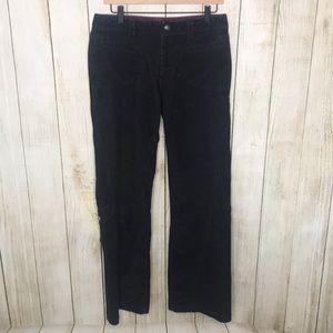 Athleta Black Corduroy Dipper Pants Size 8